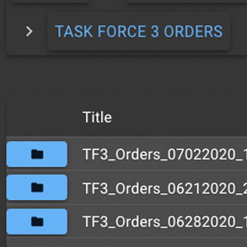 ScreenShot of Orders